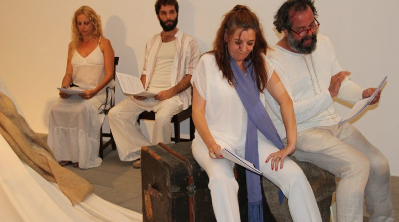 Lleno en la Casa-Museo Pérez Galdós en la intensa lectura dramatizada de 'La razón de la sinrazón'