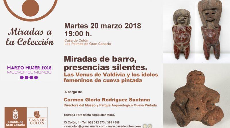 Las milenarias Venus de la Cultura Valdivia de Ecuador y los idolillos femeninos de Cueva Pintada se encuentran en la Casa de Colón