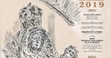 Programa de la Fiesta de las Marías 2019
