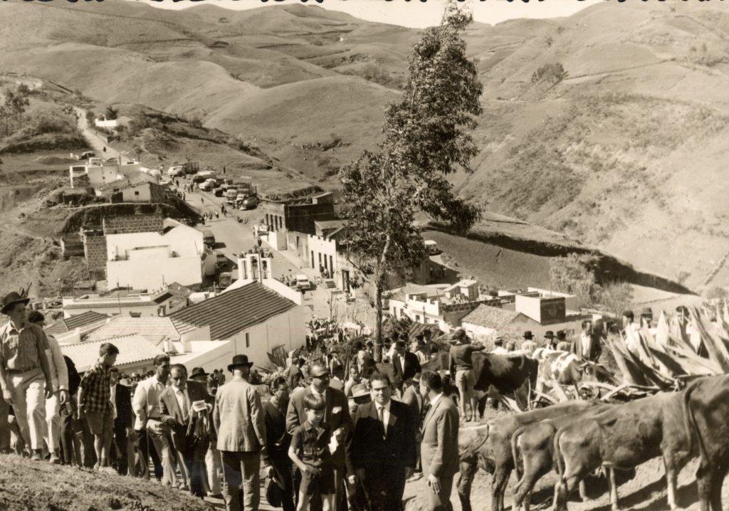 Montaña Alta a principios de la década de los 60