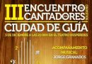"""El III Encuentro de Cantadores 2016 """"Ciudad de Guía"""" será este sábado en el Teatro Hespérides"""