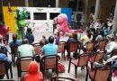 El Cancionero de la Casa de Colón' llena el museo de música, títeres y audiovisuales