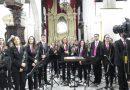 La iglesia de Santa María de Guía acogió este viernes el tradicional concierto de Navidad