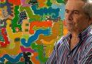 Una exposición recorre cuatro décadas de creación de Paco Sánchez, un clásico en vida de la pintura canaria