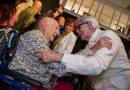 Cientos de personas abarrotan el CAAM en la inauguración de la exposición de Pepe Dámaso