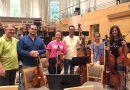 Jóvenes músicos de la JOCAN, en concierto con la Orquesta de la Comunidad de Madrid en el Auditorio Nacional