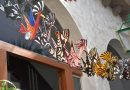 Cuarenta niños y niñas crean farolillos y estandartes inspirados en la obra del pintor Antonio Padrón y el artista Sergio Gil