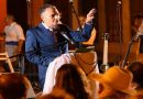 El guiense Santiago Gil abre las Fiestas del Rosario con un pregón cargado de literatura y emoción
